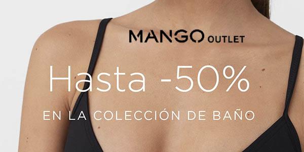 Mango Outlet moda de baño junio 2018