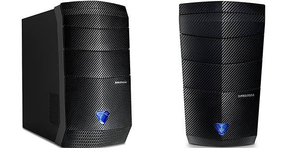 Medion Erazer P3615 D con gráfica nVidia GeForce GTX 1050 Ti