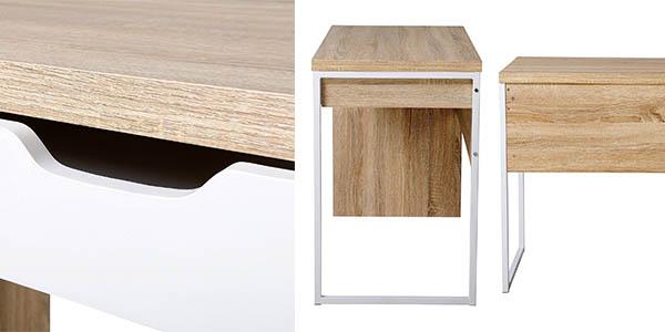 mesa de escritorio con cajón de diseño contemporáneo y genial relación calidad-precio