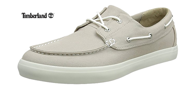Mocasines Timberland Newport Bay 2-Eye Canvas en color marrón baratos en Amazon