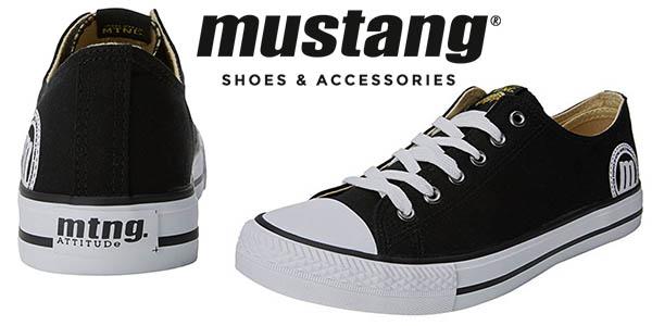 Mustang Emi zapatillas tipo Converse baratas