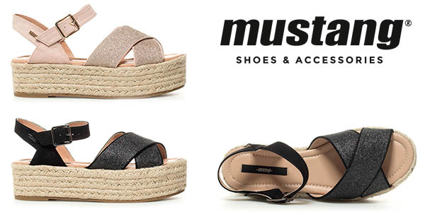 Mustang Mica sandalias de plataforma baratas