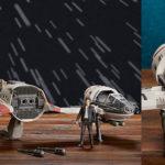 Nave Resistance Ski Speeder de Star Wars con figura de Poe Dameron barata