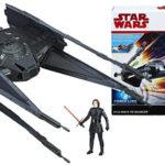 Pack vehículo y figura Star Wars - Kylo Ren's Tie Silencer (Hasbro C1252EU4) barato en Amazon