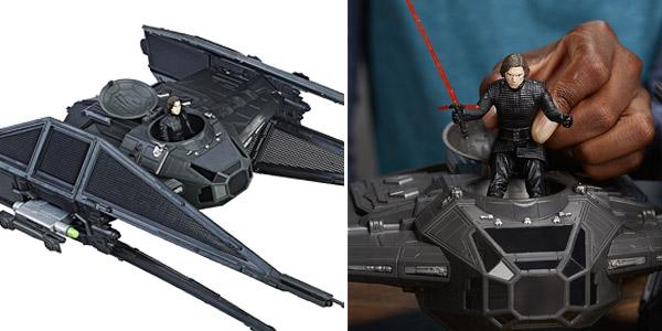 Pack vehículo y figura Star Wars - Kylo Ren's Tie Silencer (Hasbro C1252EU4) chollazo en Amazon