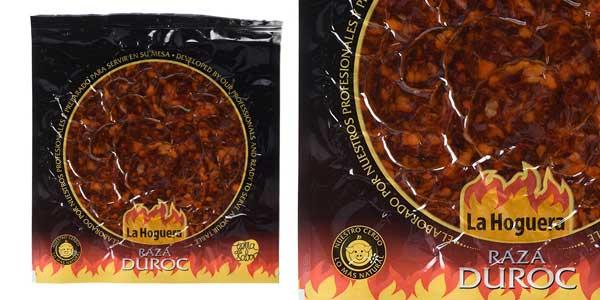 Pack de 10 paquetes de Chorizo Loncheado La Hoguera Duroc (120 gr/ud.) chollazo en Amazon