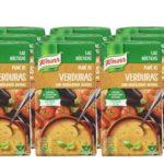 Pack 12 Envases x 500 ml Knorr Las Rústicas Puré de Verduras con Berenjenas Asadas barato en Amazon