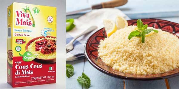 Pack 12 paquetes x 375 gr Probios Easy Cuscús de Maíz sin Gluten chollo en Amazon
