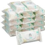 Pack de 15 paquetes de Toallitas húmedas para bebé Amazon Mama Bear Sensitive (840 toallitas) chollazo en Amazon
