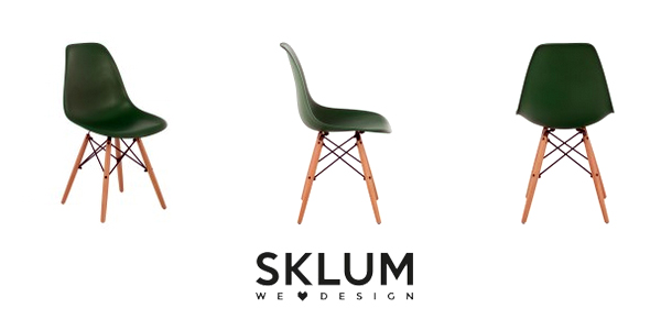Pack de 4 sillas de diseño retro nórdico X en muchos colores chollazo en eBay