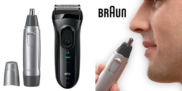 Pack Afeitadora Braun Pro Skin 3000 + Naricero EN10 barato
