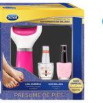 Pack Lima Electrónica de pies Dr Scholl en color rosa y con 2 pintauñas barato en Amazon