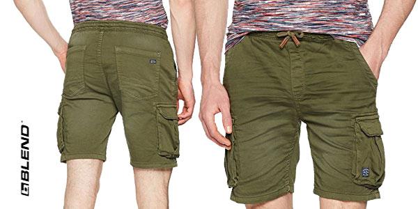 Pantalones bermudas cortos Blend, para hombre chollazo en Amazon