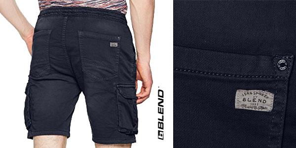 Pantalones bermudas cortos Blend, para hombre chollo en Amazon