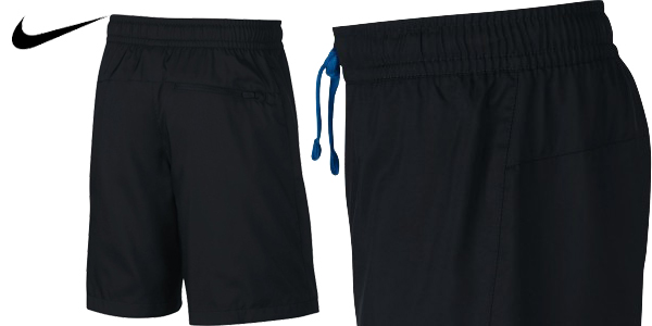 Pantalones Cortos Nike Sportswear color negro para niño chollo en Amazon