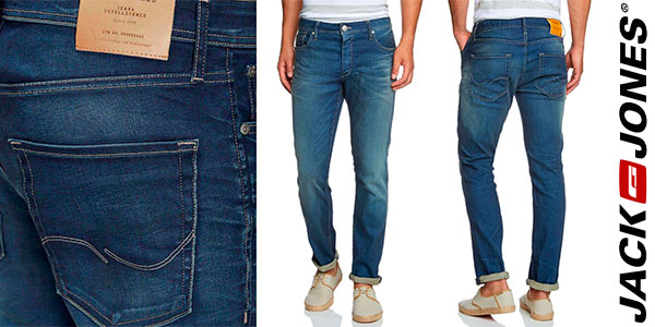 Pantalones vaqueros Jack & Jones Tim Original para hombre baratos