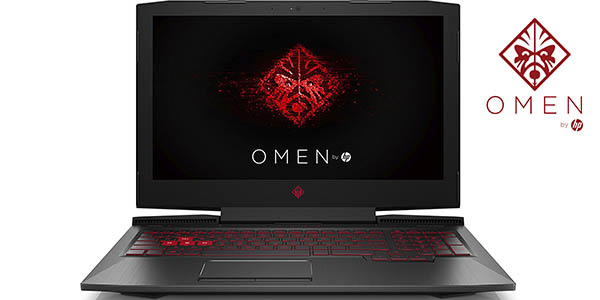 Portátil gaming HP Omen 15-ce012ns