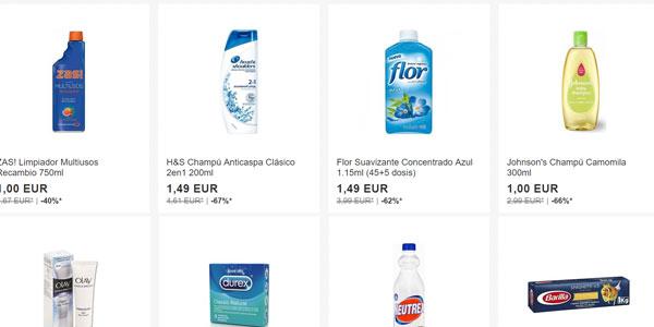 Miniprecios en eBay solo hoy en productos de supermercado