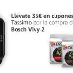 Promoción Tassimo Vivy 2 por 29€ y llévate de regalo 35€ en cápsulas barato en Amazon