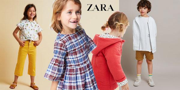 Rebajas de verano Zara 2018 Niños