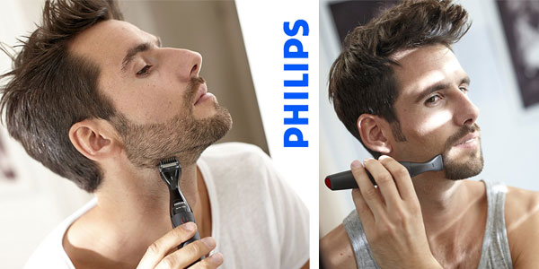 Recortador de vello facial Philips MG1100/16 para hombre chollazo en Amazon