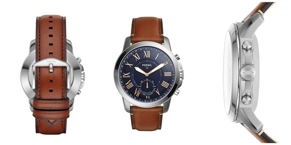 Smartwatch híbrido Fossil Q Grant en oferta en Amazon