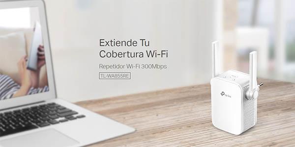 Repetidor WiFi TP-Link N300 TL-WA855RE en Amazon