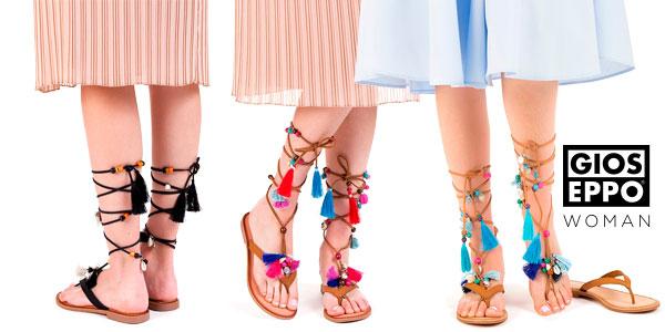 Sandalias esclavas Gioseppo Decore de piel para mujer baratas en eBay