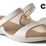 Sandalias Crocs Cleo V Wen color marfil para mujer baratas en La Redoute