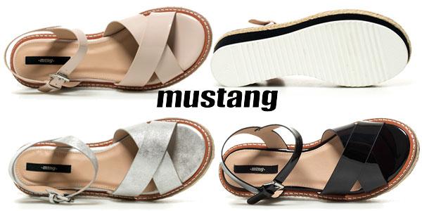 Sandalias Mustang Melinda para mujer en tres colores chollo en eBay