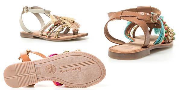 sandalidas de tiras Gioseppo Nambi en oferta