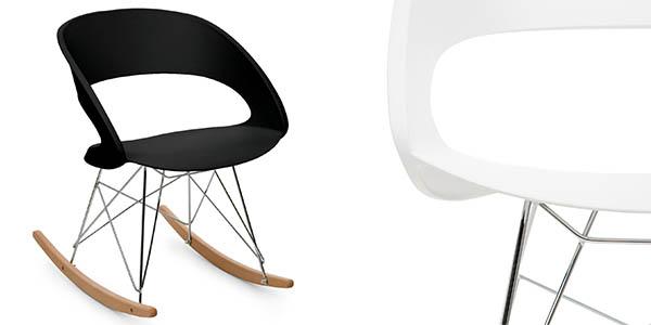 silla de diseño contemporáneo imitación silla Eames chollo
