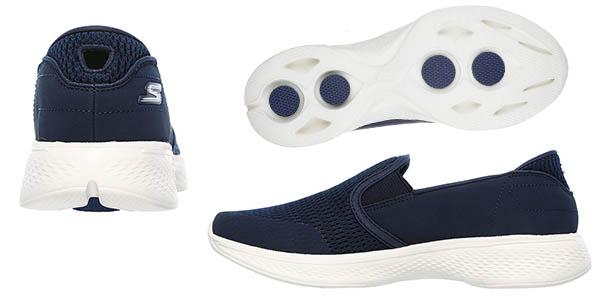 Skechers Go Walk 4-Attuned zapatillas sin cordones a precio de chollo