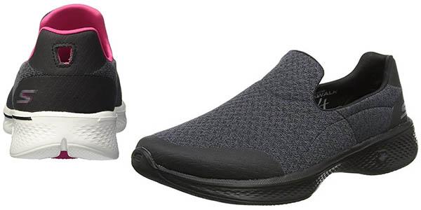 Skechers Go Walk 4 zapatillas confortables con plantilla Go Max chollo