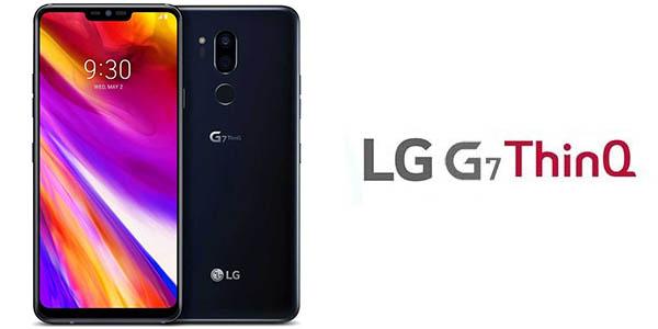 Smartphone LG G7 ThinQ con 4 GB RAM y 64 GB