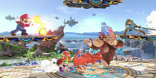 Super Smash Bros Ultimate para Nintendo Switch barato