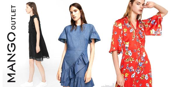 Chollo 50% de descuento en vestidos en rebajas de verano Mango Outlet