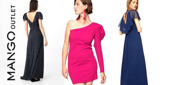 Promoción hasta 50% de descuento en vestidos en rabajas de verano Mango Outlet