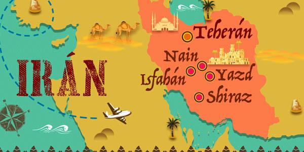 viaje organizado a Irán con genial relación calidad-precio