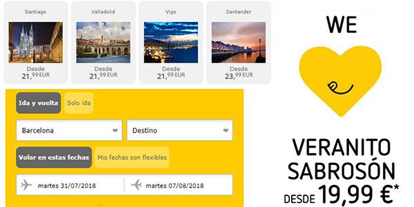 Vueling ofertas vuelos agosto para viajar en verano, otoño e invierno