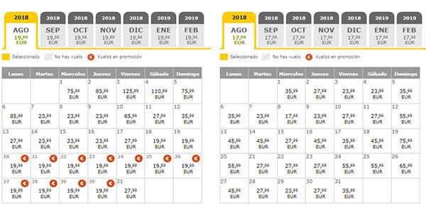 Vueling promoción vuelos baratos verano 2018