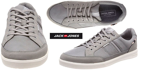 Zapatillas de estilo casual Jack & Jones Jfwrayne Mix de color gris para hombre en oferta