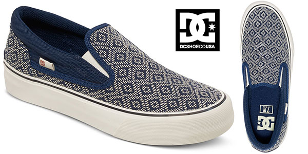 Zapatillas DC Shoes Trase Slip-On Printed para mujer baratas