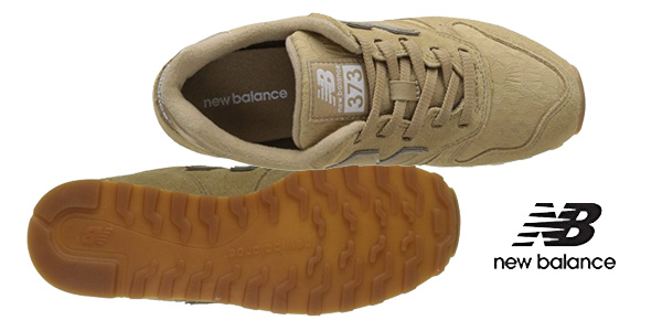 Zapatillas deportivas New Balance Wl373v1 en color hueso para mujer chollo en Amazon