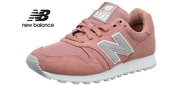 Zapatillas deportivas New Balance Wl373v1 en color violeta para mujer oferta en Amazon