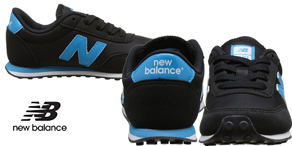 Zapatillas unisex New Balance 410 para niños chollo en Amazon