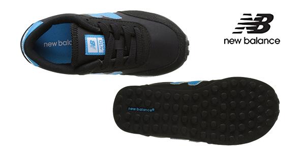 Zapatillas unisex New Balance 410 para niños chollazo en Amazon