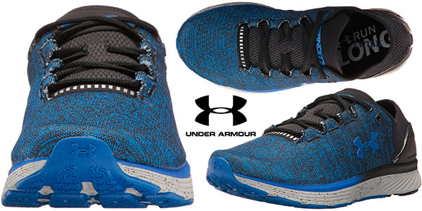 224abf03e Zapatillas de running Under Armour UA Charged Bandit 3 de color azul para  hombre en oferta