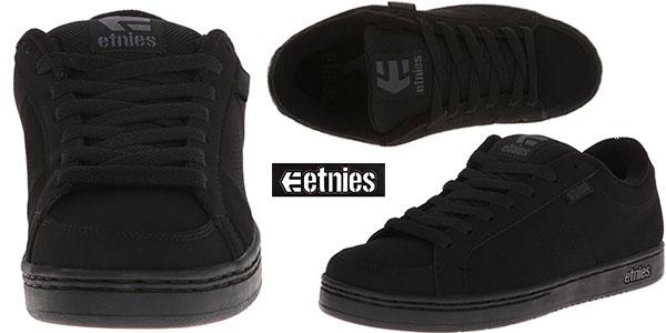 Zapatillas Etnies Kingpin unisex de color negro en oferta