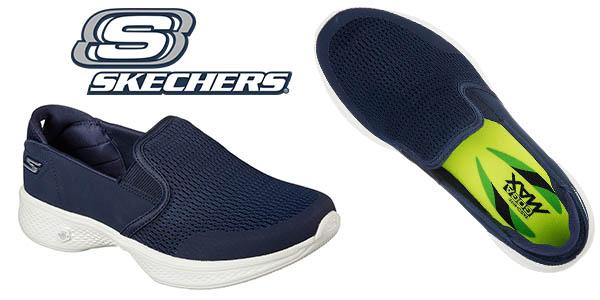 cab2f901f66 Chollazo Zapatillas Skechers Go Walk 4-Attuned sin cordones para ...